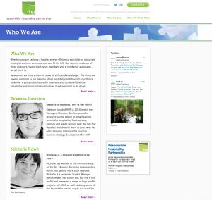 RHP website