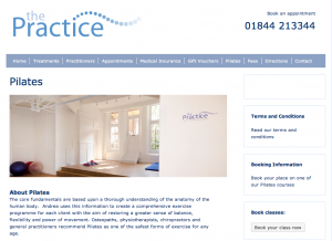 The Practice Website
